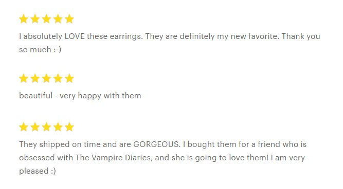 Caroline's Keepsake Earrings Review
