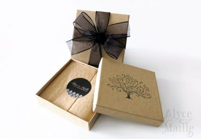 Alyce n Maille Packaging
