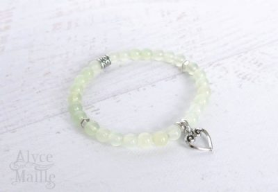 New Burma Jade Gemstone Bracelet