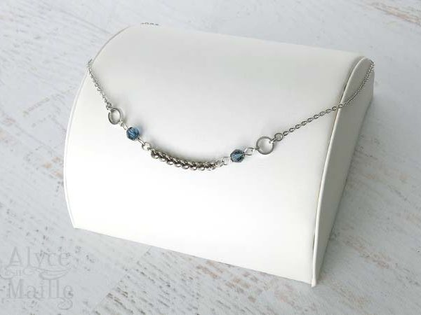 Blue Twist Necklace as Seen on Jane The Virgin