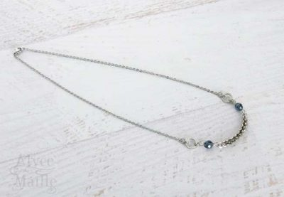 Blue Twist Necklace as Seen on Jane The Virgin
