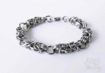 Alyce n Maille Chainmaille Stainless Steel Bracelet