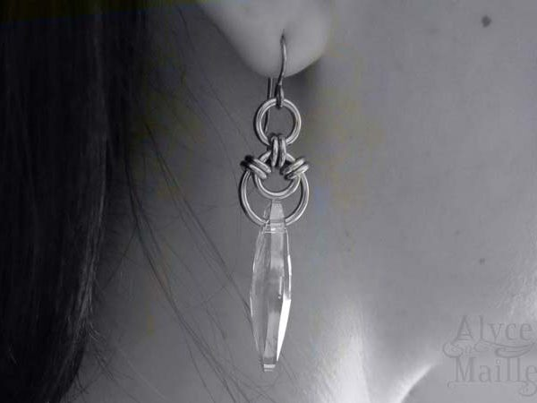 AURORA'S CRYSTAL SHARD EARRINGS AS SEEN ON THE ORIGINALS