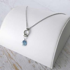 Elena's Blue Frost Pendant as seen on The Vampire Diaries