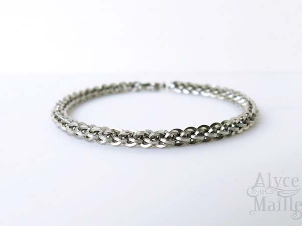 Alyce n Maille Stainless Steel Bracelet