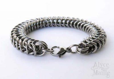 Alyce n Maille Men's Stainless Steel Bracelet