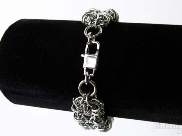 Alyce n Maille Gridlock Stainless Steel Bracelet