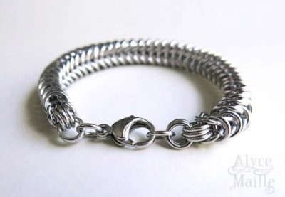 Alyce n Maille Box Stainless Steel Bracelet