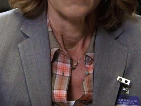 Elegant Gold Beaded Necklace as seen on Bones