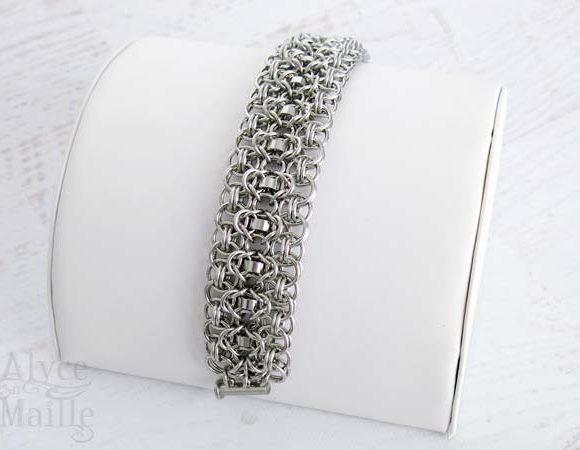 Rondo a la Byzantine Stainless Steel Bracelet