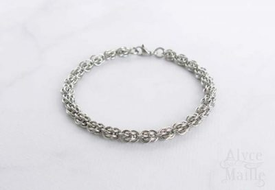 Sweetpea Stainless Steel Bracelet