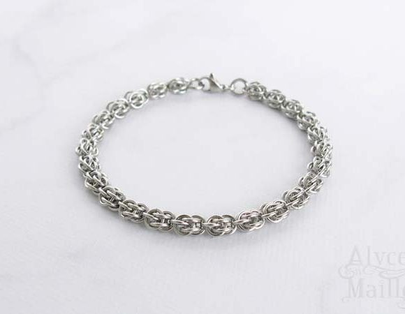 Sweetpea Stainless Steel Bracelet