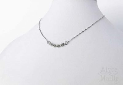 Alyce n Maille Stainless Steel Necklace as seen on Arrow