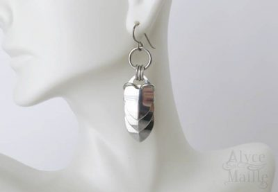 Alyce n Maille Dragon Tail Earrings