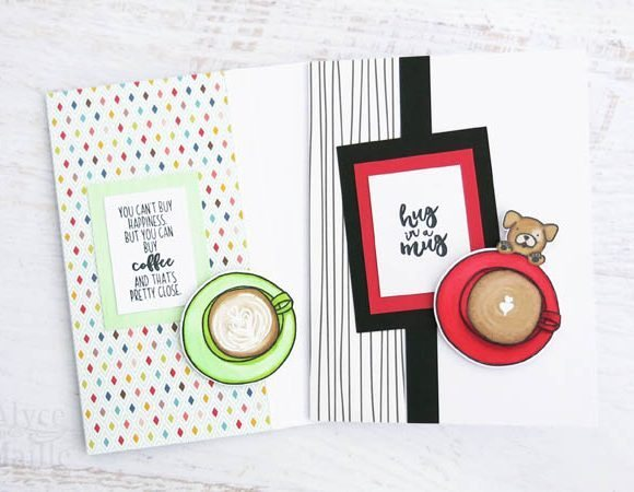 Coffee Greeting Card Set